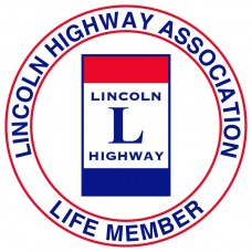 Window Sticker - Lincoln Highway Association LIFE Member