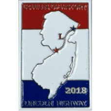 2018 Lincoln Highway Conference Lapel Pin