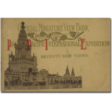 Pan-Pacific International Exposition Miniature View Book