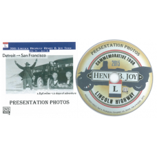 2015 Lincoln Highway Henry B. Joy Tour ~ Presentation Photos