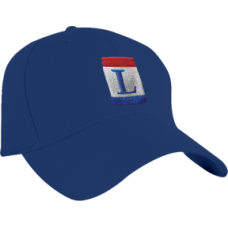 Fitted Navy Blue Cap