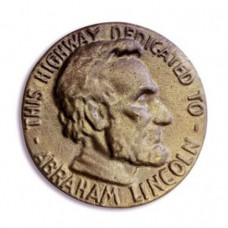 Abraham Lincoln Post Medallion