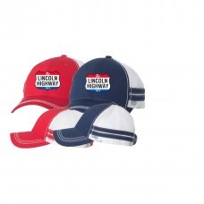 Sportsman - Striped Trucker Cap
