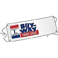 Lincoln Highway Buy-Way Giant Parking Lot Banner