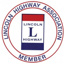 Window Sticker - Lincoln Highway Association Member