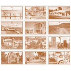 Lincoln Highway Postcard Frameable Sheet