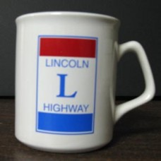 Lincoln Highway C Handle Mug