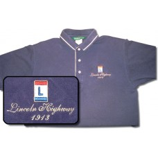 "Polo Shirt ""Lincoln Highway - 1913"""