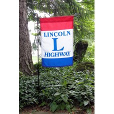 Lincoln Highway Garden Flag