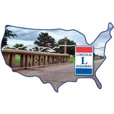 USA Acrylic Magnet