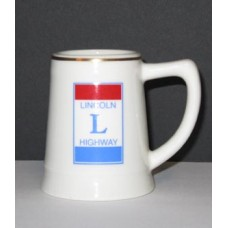 Lincoln Highway Miniature Ceramic Stein