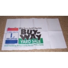 Lincoln Highway Buy-Way Table Banner