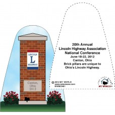 The Cat's Meow® Lincoln Highway Pillar Replica