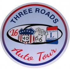 2016 Three Roads Tour Magnetic Door Sign or Decal